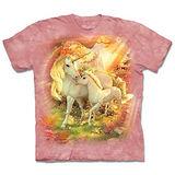 『摩達客』(預購)*大尺碼3XL*美國進口【The Mountain】自然純棉系列 親子獨角獸 設計T恤