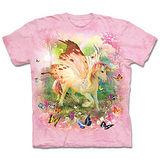 『摩達客』(預購)*大尺碼3XL*美國進口【The Mountain】自然純棉系列 飛馬獨角獸 設計T恤