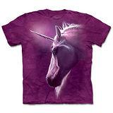 『摩達客』(預購)V美國進口【The Mountain】自然純棉系列 神聖獨角獸 設計T恤