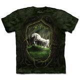 『摩達客』(預購)*大尺碼3XL*美國進口【The Mountain】自然純棉系列 獨角獸林地 設計T恤