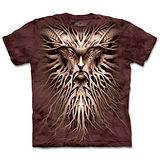 『摩達客』(預購)*大尺碼3XL*美國進口【The Mountain】自然純棉系列 夜之根 設計T恤