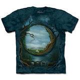 『摩達客』(預購)*大尺碼3XL*美國進口【The Mountain】自然純棉系列 夜與日 設計T恤