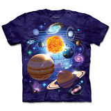 『摩達客』(預購)*大尺碼3XL*美國進口【The Mountain】自然純棉系列 九大行星 設計T恤