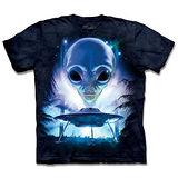 『摩達客』(預購)*大尺碼3XL*美國進口【The Mountain】自然純棉系列 外星登陸 設計T恤