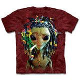 『摩達客』(預購)*大尺碼3XL*美國進口【The Mountain】自然純棉系列 加滿外星人 設計T恤