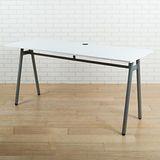 BuyJM 傑利A型工作桌(寬160cm)-白色