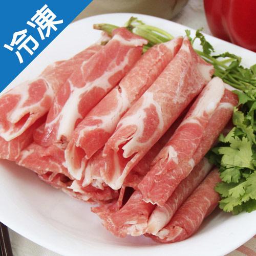 特選黑豬梅花肉片1盒^(豬肉^)^(500g±5^%盒^)