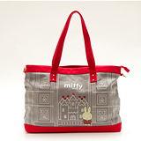【Miffy】米菲 童話故事系列-托特包(亮眼紅)