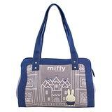 【Miffy】米菲 童話故事系列-側背包(靛藍色)