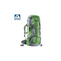 【德國 Deuter】FOX 40+4L 輕量拔熱透氣背包.登山包.旅遊包.休閒背包.健行背包/36083 (綠/灰)