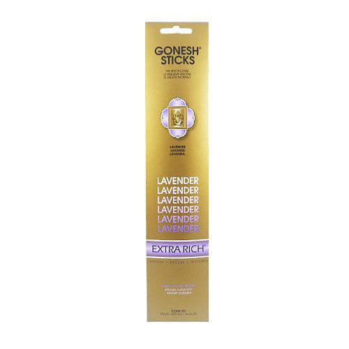 美國 GONESH 線香 Extra Rich 單方系列 薰衣草 Lavender 20支