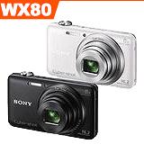 SONY DSC-WX80 WiFi分享廣角數位相機(公司貨)- 加送16G卡+專用鋰電池+中腳架+HDMI+清保組+讀卡機+桌上型小腳架