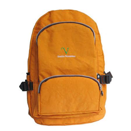 【Emilio Valentino】休閒運動後背包(EV-617)-桔色