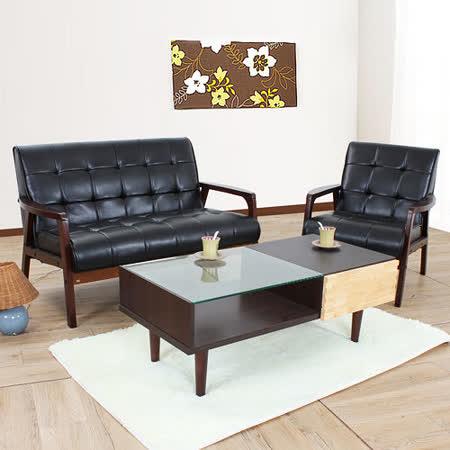【開箱心得分享】gohappy快樂購物網AHOME 約克夏木作2+1人座皮沙發椅組哪裡買板橋 大 遠 百 百貨