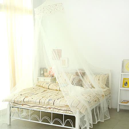 Missya【淺米杏】歐式浪漫雙層蕾絲防蚊公主睡簾