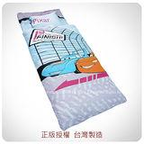 經典卡通【CARS閃電麥坤-賽車篇】鋪棉冬夏兩用兒童睡袋(藍)