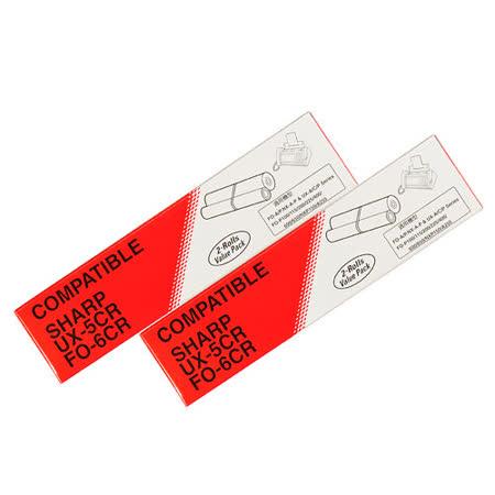 傳真機專用轉寫帶 for SHARP UX-5CR / FO-6CR【二盒裝/共4入】