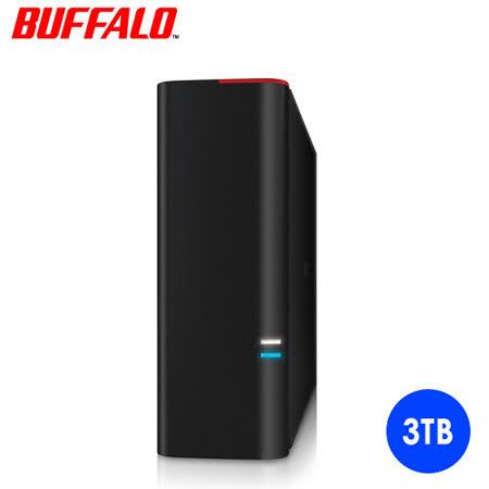 BUFFALO GD系列 3TB DRAM快取 USB3.0 3.5吋外接式硬碟