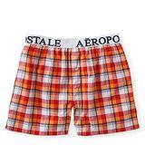 Aeropostale 2013男標誌紅白格子平口內著2件組【預購】