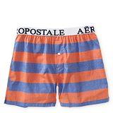 Aeropostale 2013男標誌橙藍寬條平口內著2件組【預購】