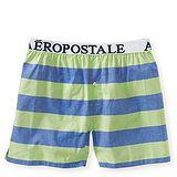 Aeropostale 2013男標誌藍綠寬條平口內著2件組【預購】