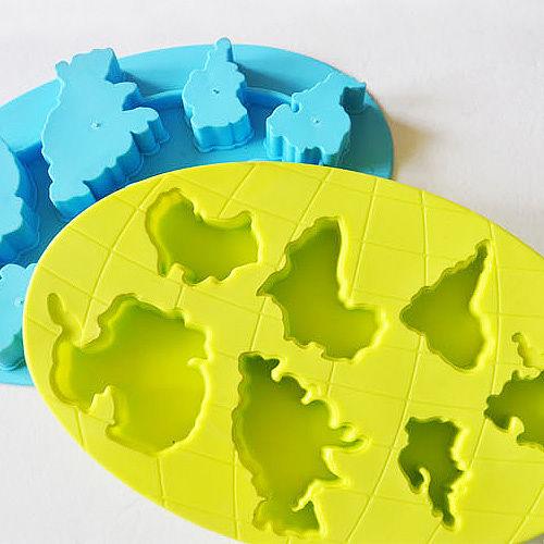 ~iSFun~遨遊天際~矽膠模型製冰盒 色