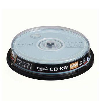 E-BOOKS國際版12X CD-RW 10片桶