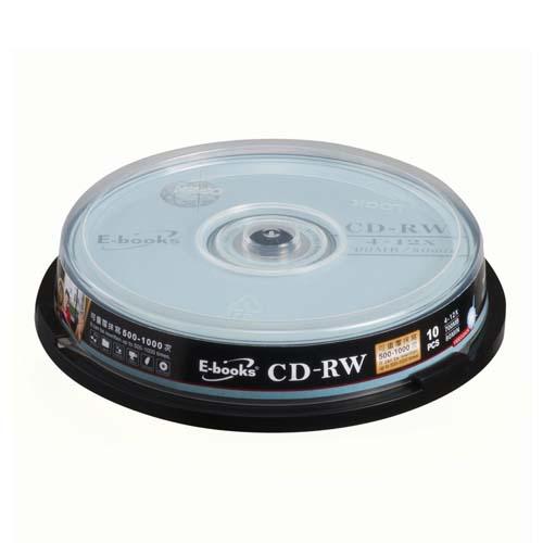 E~BOOKS國際版12X CD~RW 10片桶