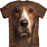 『摩達客』*大尺碼3XL*美國進口【The Mountain】自然純棉系列 可卡獵犬設計T恤 (預購)