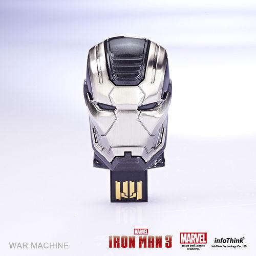 InfoThink 鋼鐵人3造型隨身碟 - WarMachine戰爭機器16GB