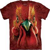 『摩達客』*大尺碼3XL*美國進口【The Mountain】自然純棉系列 公雞頭 設計T恤 (預購)