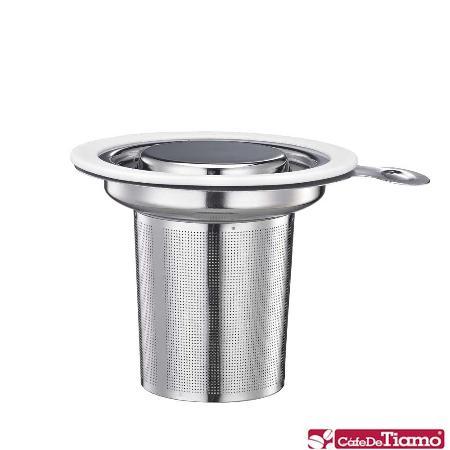 Tiamo 1307 不鏽鋼蓋濾網組【白色】HG1751 W