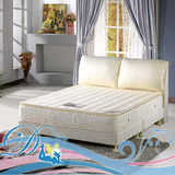 睡夢精靈 森林系 常春藤白金級乳膠三線獨立筒床墊單人加大