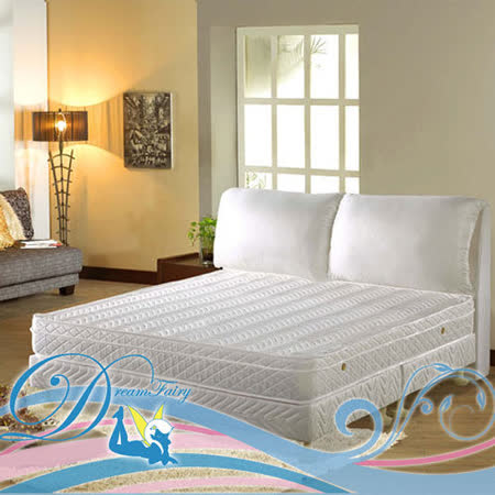 睡夢精靈 森林系 野薔薇黃金級蜂巢式獨立筒床墊雙人加大