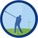 《KIKKERLAND》高爾夫時鐘