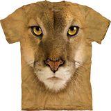 『摩達客』*大尺碼3XL*美國進口【The Mountain】自然純棉系列 山豹臉 設計T恤 (預購)