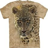 『摩達客』*大尺碼3XL*(預購)美國進口【The Mountain】自然純棉系列 覓食豹設計T恤
