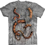 『摩達客』*大尺碼3XL*(預購)美國進口【The Mountain】自然純棉系列 大蟒蛇設計T恤