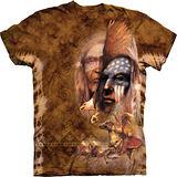 『摩達客』*大尺碼3XL*美國進口【The Mountain】自然純棉系列 傳奇 設計T恤 (預購)