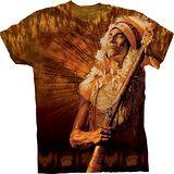 『摩達客』*大尺碼3XL*美國進口【The Mountain】自然純棉系列 無言印地安 設計T恤 (預購)