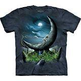 『摩達客』*大尺碼3XL*美國進口【The Mountain】自然純棉系列 月石 設計T恤 (預購)