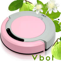 Vbot 智慧型番石榴葉香氛掃地機器人(掃+擦+吸)公主機(粉紅)