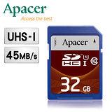 Apacer宇瞻 32GB SDHC UHS-I Class10 記憶卡