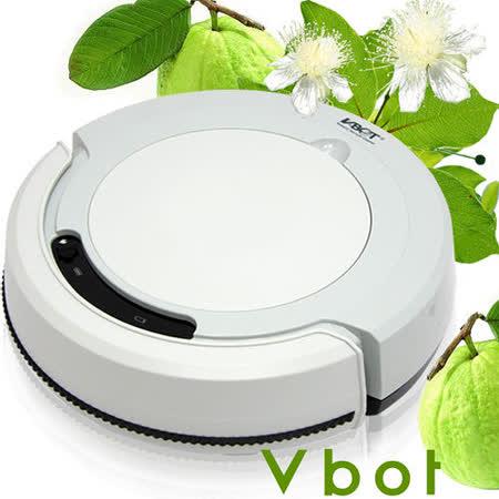 Vbot 智慧型番石榴葉香氛掃地機器人(掃+擦+吸)公主機(灰)