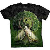 『摩達客』*大尺碼3XL*美國進口【The Mountain】自然純棉系列 陰陽村設計T恤 (預購)
