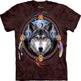 『摩達客』*大尺碼3XL*美國進口【The Mountain】自然純棉系列 首領狼 設計T恤 (預購)