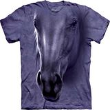 『摩達客』*大尺碼3XL*(預購)美國進口【The Mountain】自然純棉系列 馬頭像設計T恤