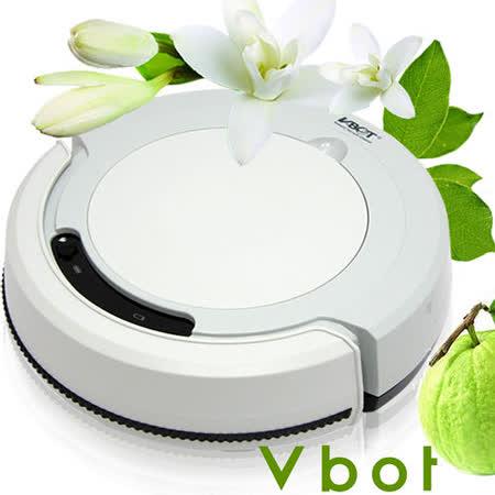 Vbot 智慧型複合香氛掃地機器人(掃+擦+吸)公主機(灰)