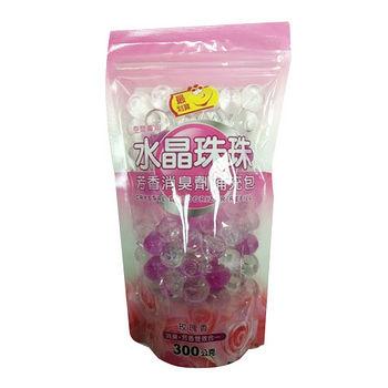 最划算水晶珠芳香消臭劑補充包玫瑰300G