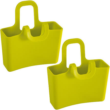 《KOZIOL》提籃茶包架(綠2入)